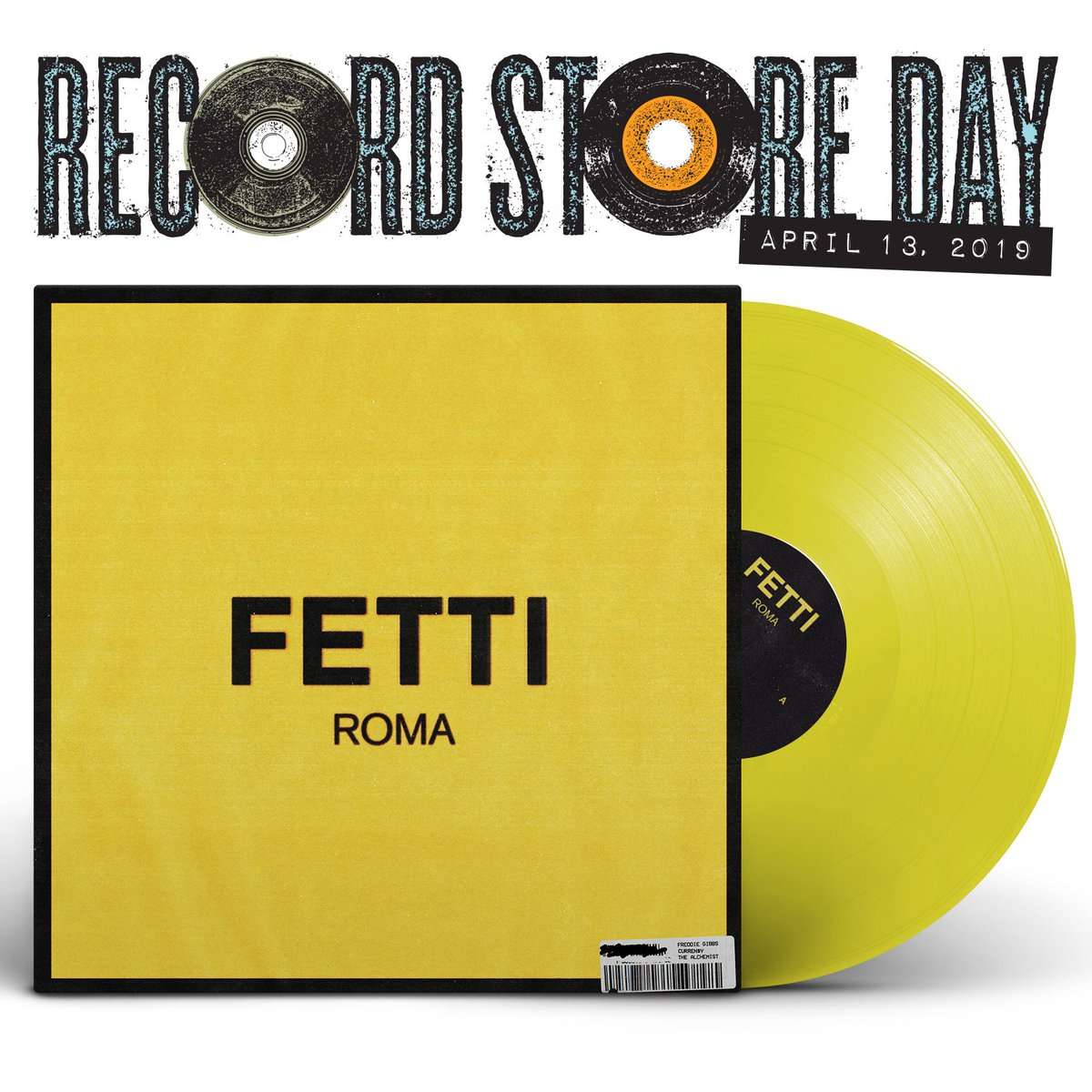 CURREN$Y, FREDDIE GIBBS AND THE ALCHEMIST - FETTI (YELLOW VINYL)02