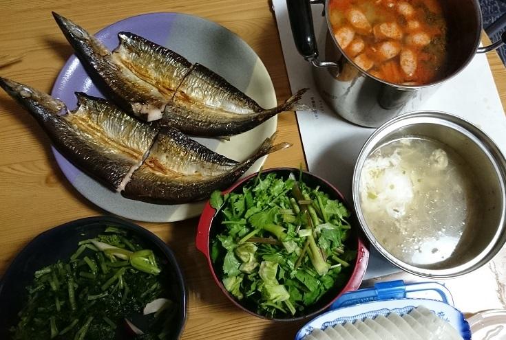 ぱにーニィ作酸っぱいスープにベストマッチング