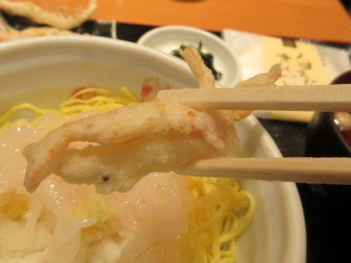 天ぷらアップ