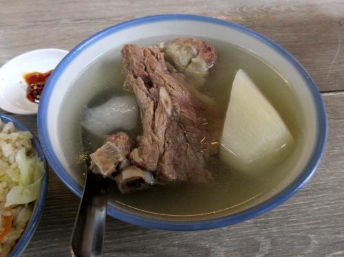原汁排骨湯