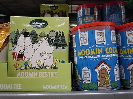 ムーミンココアと紅茶