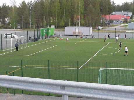 サッカー練習場