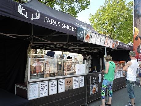 International Grand Markets in Finlandハンバーガー