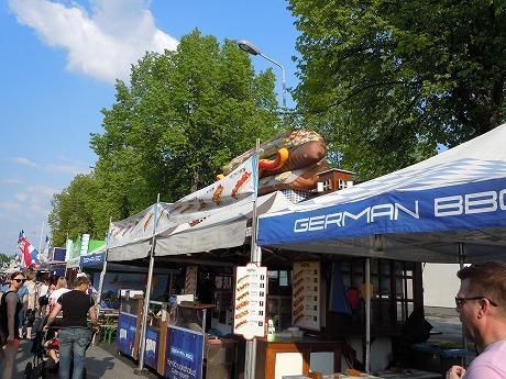 International Grand Markets in Finlandホットドッグ