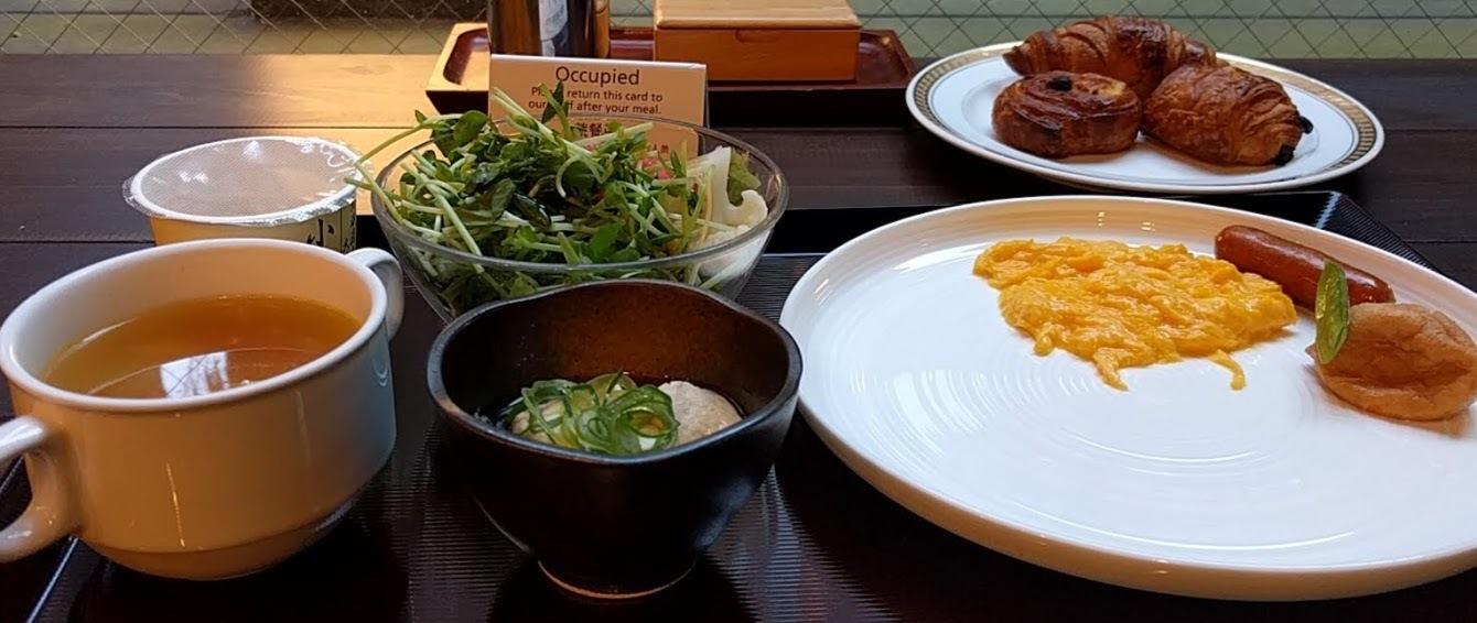 京都の朝食