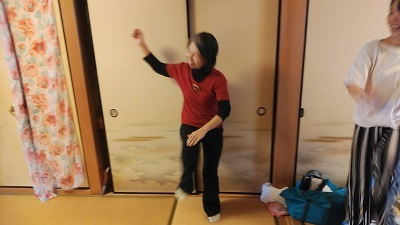 mammaオープン 和み体操