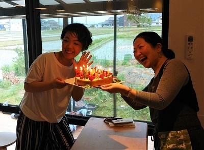 mammaオープン 誕生日2人