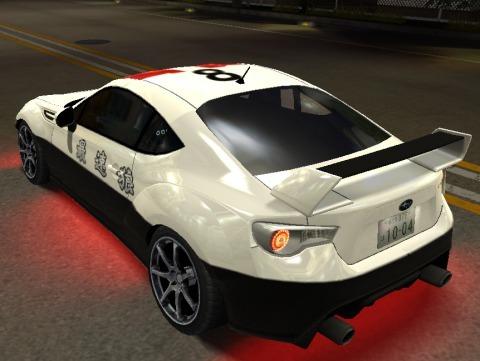 ドリスピXDBRZパトカー (3)