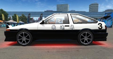 ドリスピ XD AE86 (2)