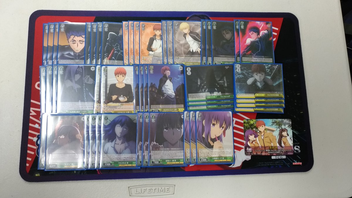 WS優勝デッキレシピFate/stay night2019/05/27