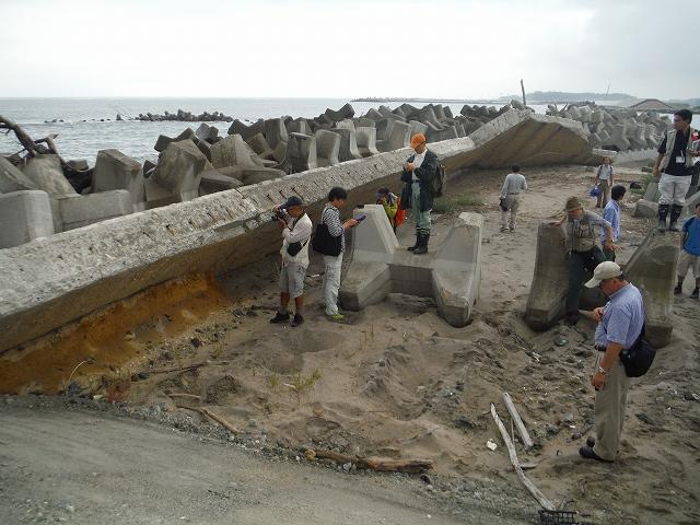 20130913山元町海岸堤防破壊跡