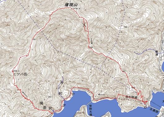 190412 権現山軌跡