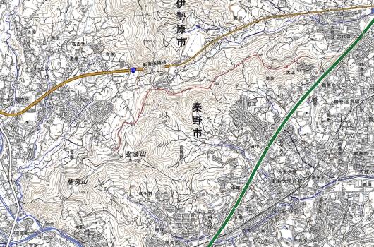 190417 鶴巻山稜軌跡