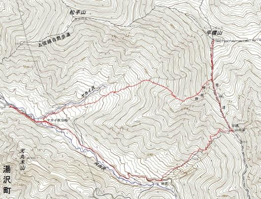 190418 平標軌跡