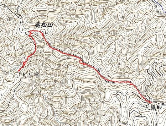 190506 山シャク&エビネ軌跡