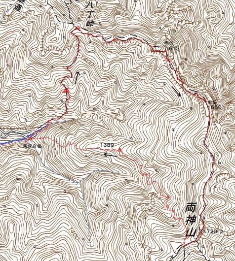 190530 両神山軌跡