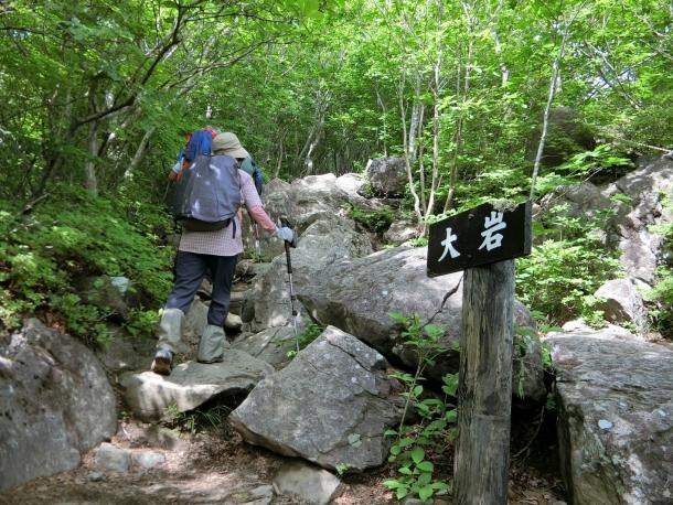 泉ヶ岳登り4