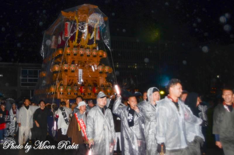 常盤巷だんじり(屋台) 西条地区後夜祭