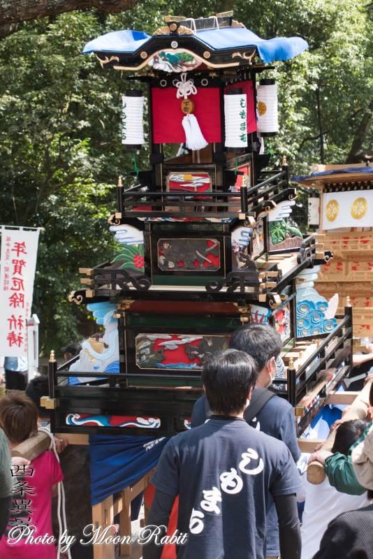 下町中組子供だんじり(屋台) 伊曽乃神社祭礼