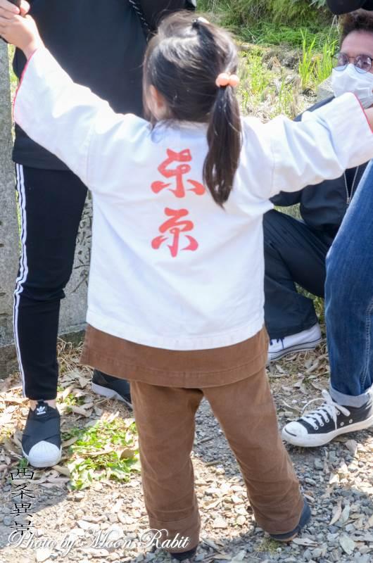 東原だんじり(屋台) 祭り装束