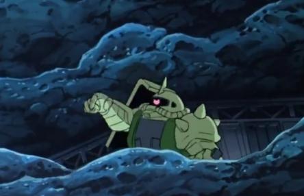【ガンダム】めぐりあい宇宙で、ザクが指差しお前行けのシーンを部下を逃した良い奴と見るアスペがいるらしい