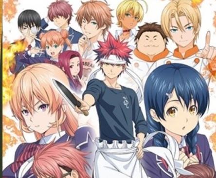 【朗報】『食戟のソーマ』アニメ4期決定! 10月から放送開始!!!