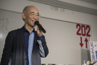 富野由悠季、大学で講演「ガンダム以外作ってないじゃないかと言われそう」と自嘲