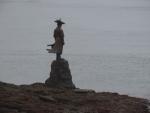 ミョンニャン海峡 像は誰?