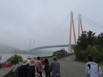 ミョンニャン海峡の珍島大橋