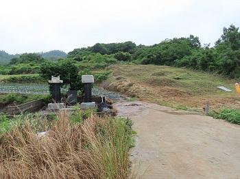 日本水軍の墓