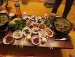 ⑪昼食プルコギサムパップ