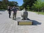 ムリョン王陵墓①