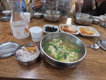 韓屋村朝食
