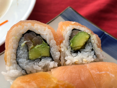 Salmon Lover roll