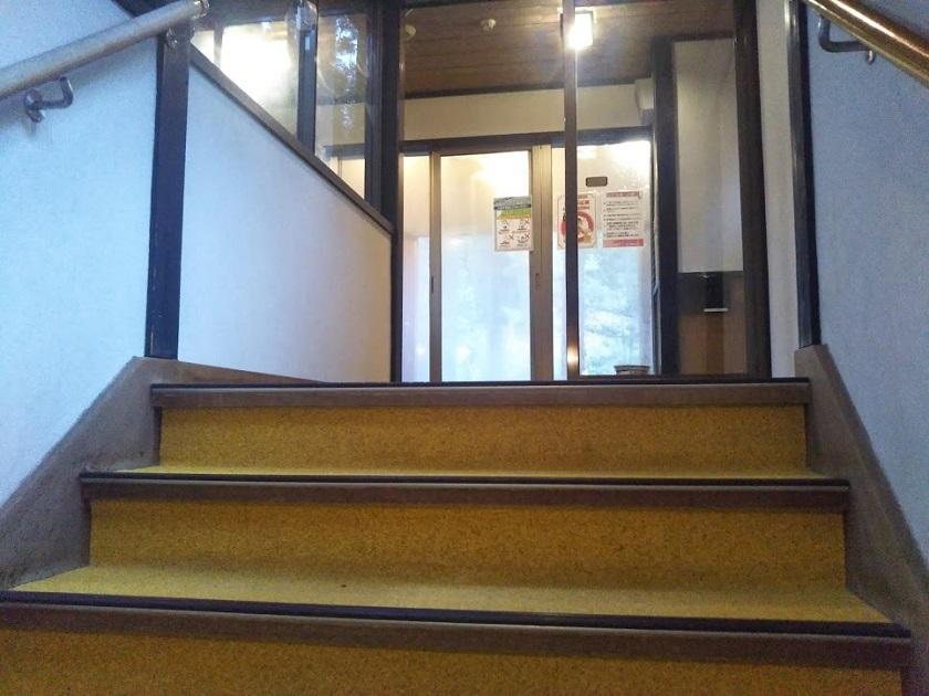 大浴場 階段