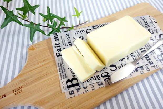 IKEA・サービングプレート・バター①