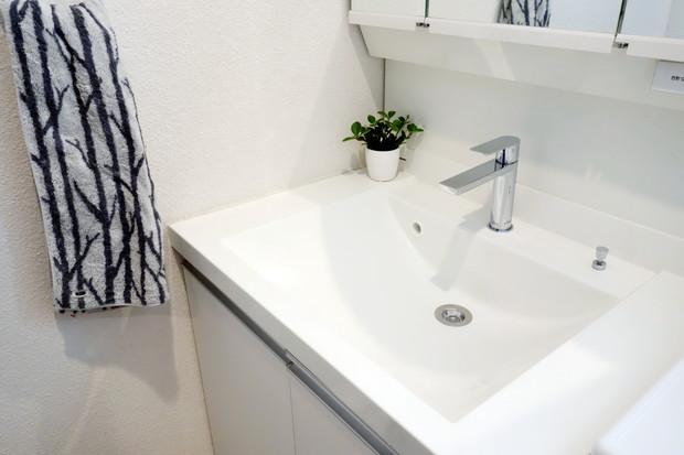 セリア・パンチングゴミ受け・洗面所・洗面台②