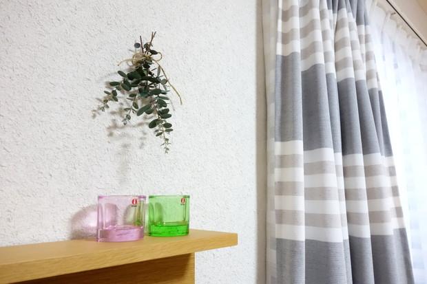 リビング・テレビ上・kivi・ペールピンク・アップルグリーン①