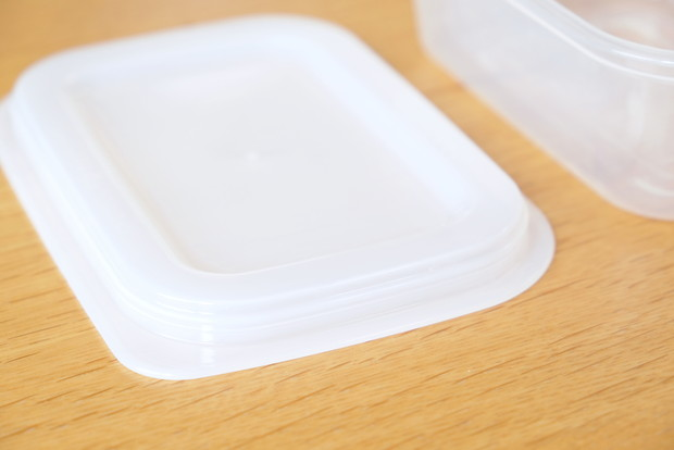 セリア・とにかく洗いやすい保存容器④
