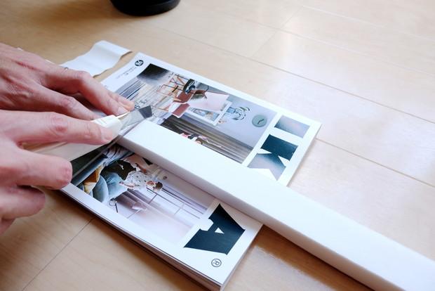 IKEA・SCHOTTIS プリーツブラインド2