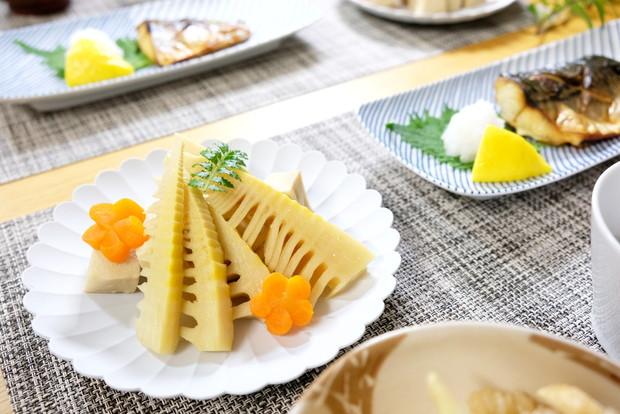 白山陶器・筍煮物・料理①