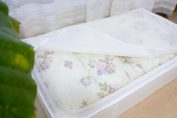 IKEA・SKUBB・収納ボックス・布団収納②