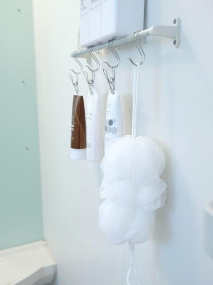 無印・のびのびボディーネット・浴室①