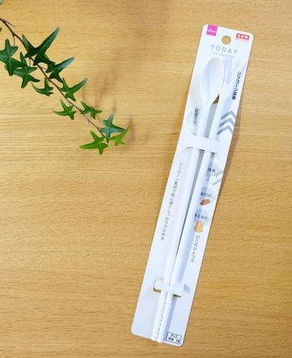 ダイソー・シリコーン菜箸①