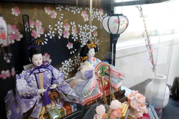 2019年・ひな人形・桃の花・ケーラー・オマジオ③