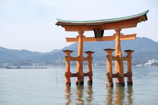 2019年3月・厳島神社①