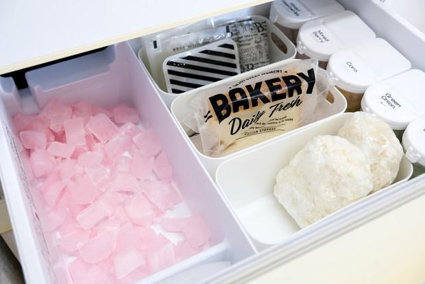冷蔵庫・冷凍庫・冷凍室・貯氷コーナー・クエン酸洗浄①