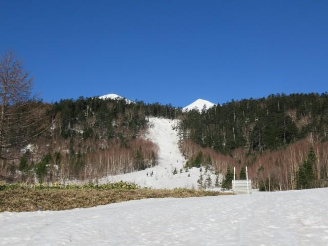 4月22日 ツアーコース入口の急登