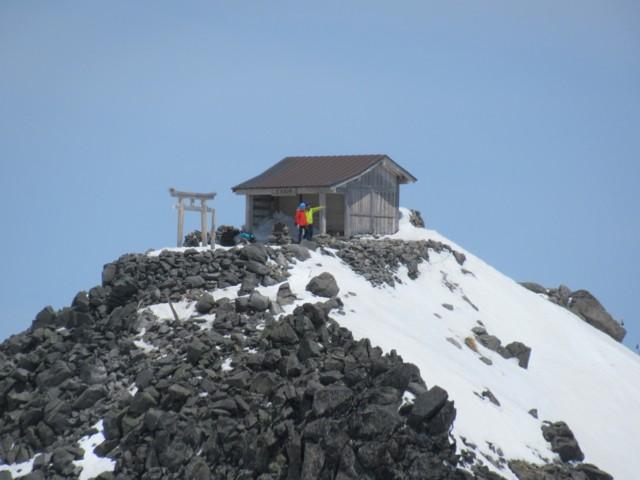 4月22日 さっきまでいた剣ヶ峰