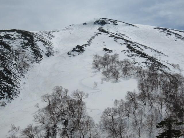4月22日 高天ヶ原北面良かった